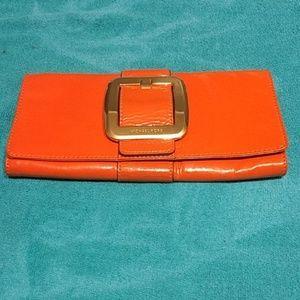 Michael Kors Clutch Orange Good Condition